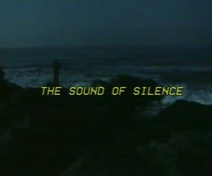 silence, grunge, and dark image