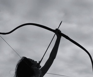 arrow, bow, and archery image
