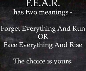 fear, quote, and bullying image