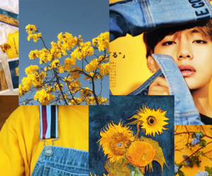 amarelo, tae, and flores image