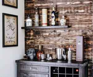 alcohol, bar, and decor image