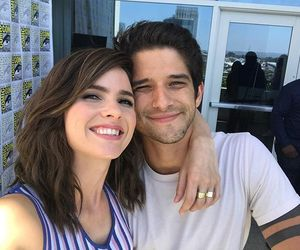 tyler posey, teen wolf, and shelley hennig image