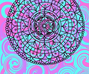 mandala, colorfu, and fondo de pantalla image