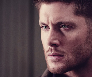 dean winchester, green eyes, and Jensen Ackles image