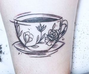 coffe, tea, and cup image