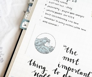 inspiration, bullet journal, and journal image