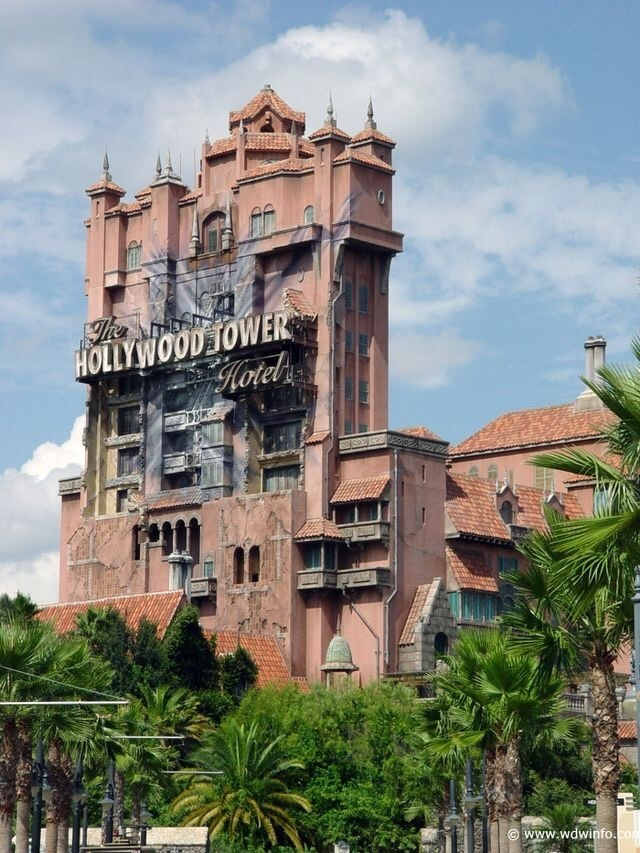 disney, disney world, and tower of terror image