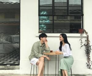 couple, asian, and korea image