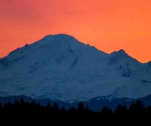 header, montains, and orange image