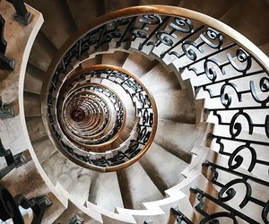 cool, stairway, and photography image