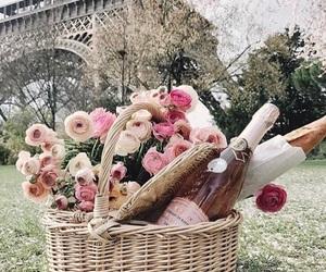 basket, girly, and paris image