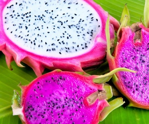 food and dragon fruit image