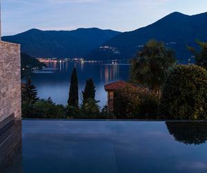 italy, lake, and pool image