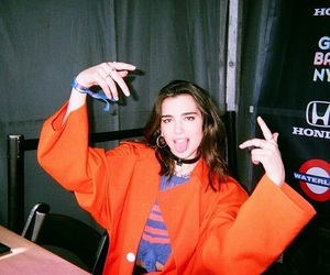 dua lipa and girl image