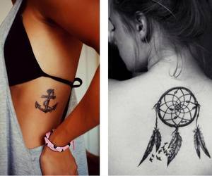 anchor, body, and tattoo image
