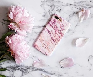 marble, pink, and accessories image