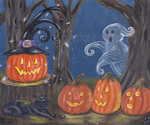 etsy, ghost, and Halloween image