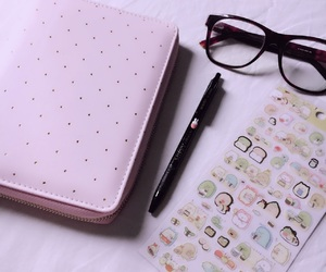 aesthetic, college, and girly image