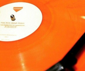 orange, aesthetic, and tumblr image