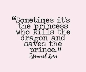 quotes, princess, and dragon image