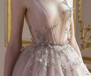 fashion, floral embellishment, and embellishment image
