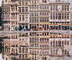 travel, architecture, and belgium image
