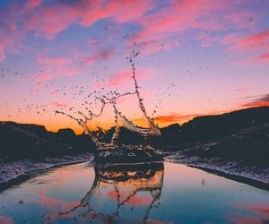 water, beautiful, and purple image