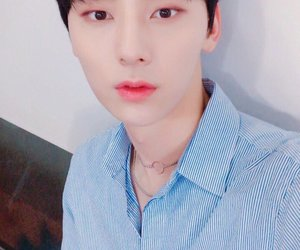 visual, minhyun, and nuest image