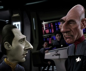 art, jean luc picard, and patrick stewart image