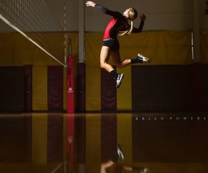 sport and volleyball image
