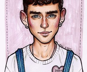 gold, olly alexander, and shine image