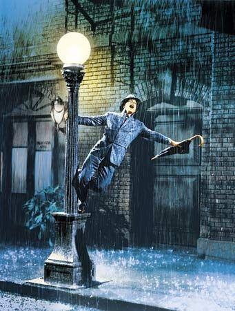 rain, Singing In The Rain, and Gene Kelly image