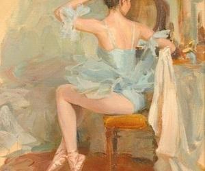 ballerina, ballet dancer, and ballet flats image