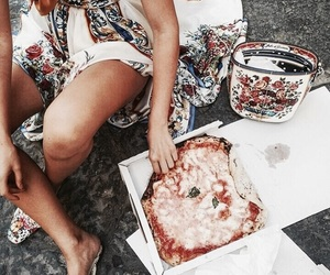 pizza, food, and theme image