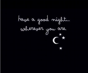 quotes, night, and good night image
