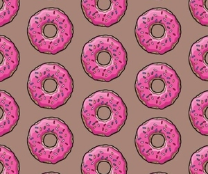donuts, food, and wallpaper image