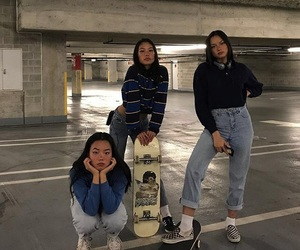 girl, asian, and friendship image