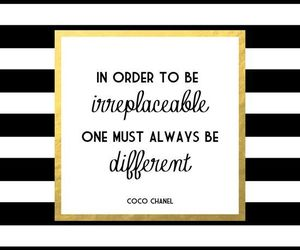 coco chanel, quote, and different image