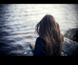 alone, girl, and life image