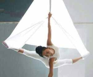 aerial, dance, and fit image