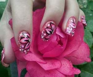 adorable, beauty, and nailpolich image