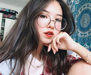 ulzzang, korean, and icon image