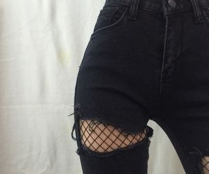 jeans, tumblr, and moda image