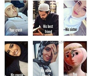 funny, hijab, and muslim image
