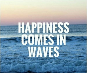 happiness, 🌊, and life image