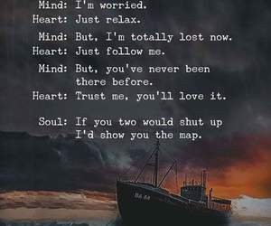 heart, travel, and soul image