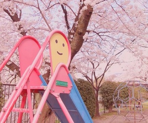 japan, pastel, and playground image