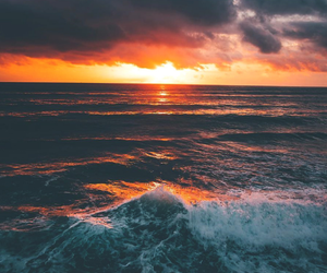 nature, sunset, and travel image