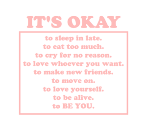 quotes, pink, and okay image
