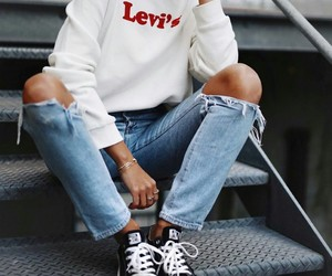 autumn, fall, and levis image
